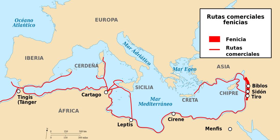 PhoenicianTrade_es.svg rutas comerciales fenicias wikipedia.png